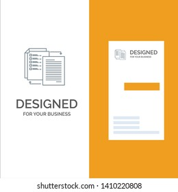 File, Share, Transfer, Wlan, Share it Grey Logo Design and Business Card Template