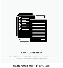 File, Share, Transfer, Wlan, Share it solid Glyph Icon vector