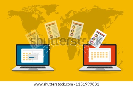 File transfer Two laptops