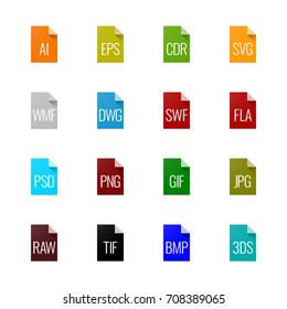 File type icons - Graphics