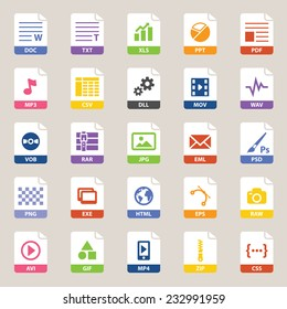 File types icon