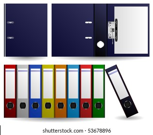 Files and Folders Vector
