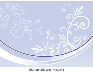 filigree with lines vector
