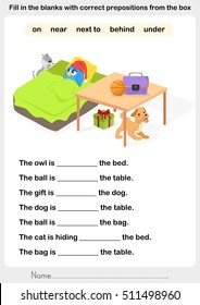 Preposition Images, Stock Photos & Vectors | Shutterstock
