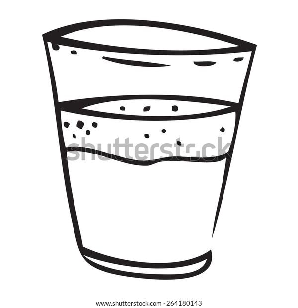 Filled Glass Doodle