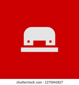 Filled hole puncher super icon