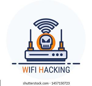 Wifi Hacker Images, Stock Photos & Vectors | Shutterstock