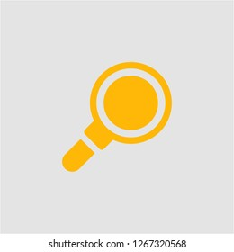 Filled loupe super icon. Loupe vector illustration for graphic design. Loupe symbol.