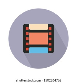 Film pictogram icon - From Movie and film icons set