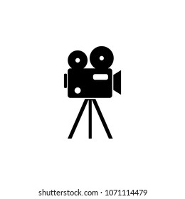 film projector icon. Element of theater and art illustration. Premium quality graphic design icon. Signs and symbols collection icon for websites, web design, mobile app on white background