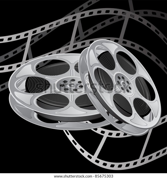 film reel slapstick film shooting