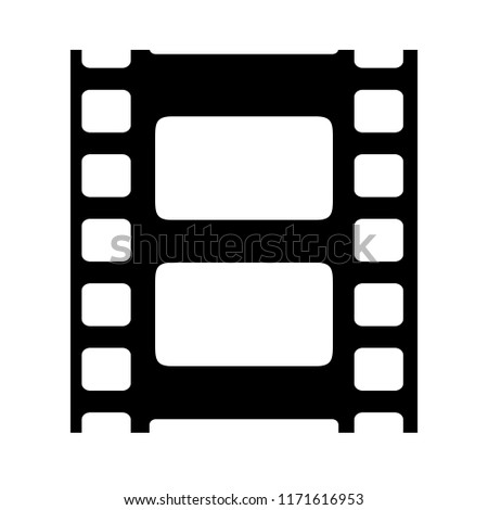 film reel vector icon isolated on stock vector royalty free rh shutterstock com movie reel vector free download movie reel strip vector
