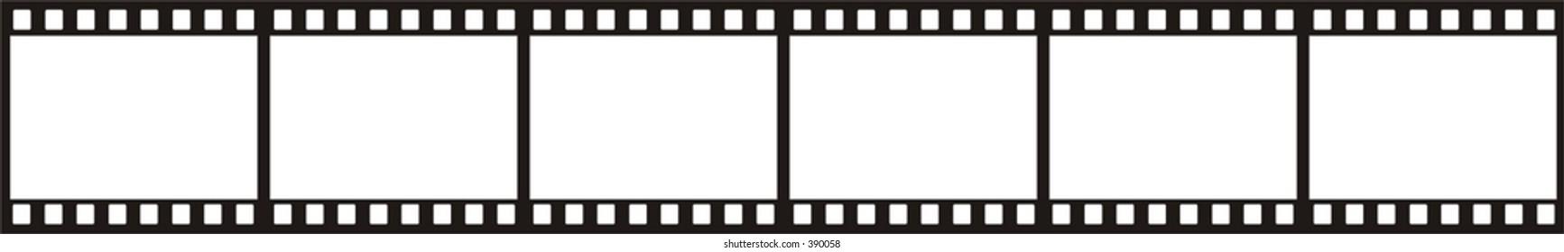 Film strip 1:1 in vector (24x36mm)