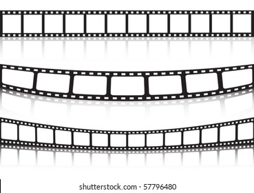Film strip background collection