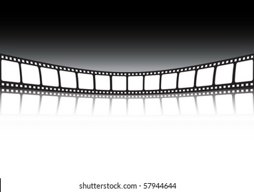 Film strip background  illustration banner