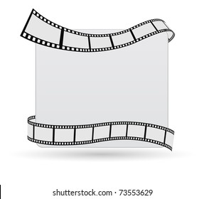 film strip greeting card