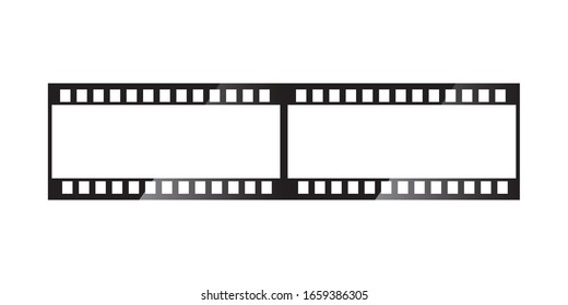 Film strip icon vector. Eps10 vector illustration.