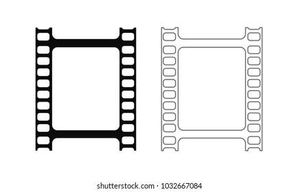 film strip outline icon