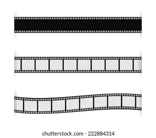 film strip with shadow design