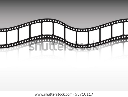 Film Strip Vector Background Stock Vector Royalty Free 53710117