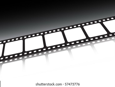 Film strip vector background  illustration
