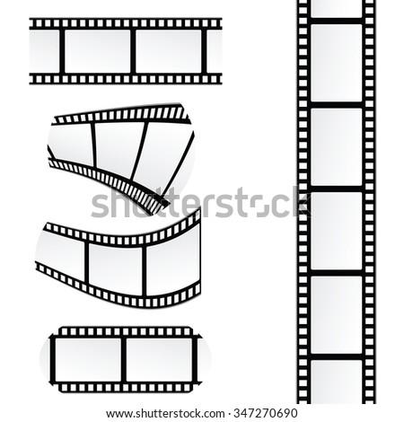 film tape roll vector illustration stock vector royalty free