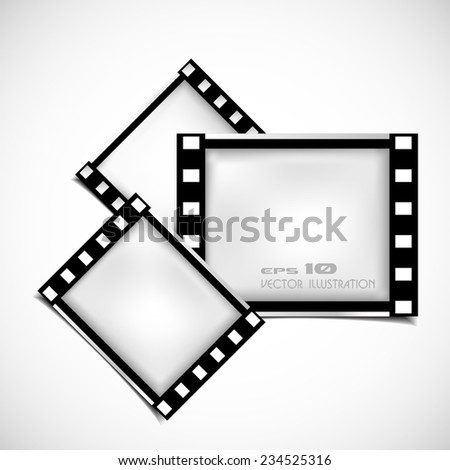 Films Frame Abstract Illustration Stock Vector (Royalty Free ...
