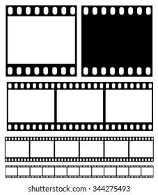Filmstrip illustration vector