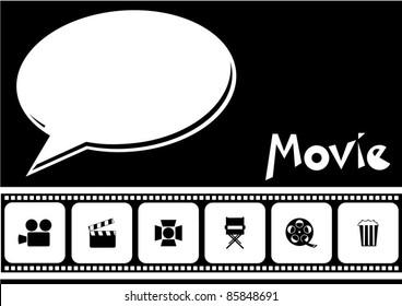 filmstrip movie background