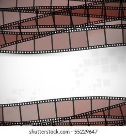 filmstrip vector background