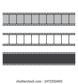 filmstrip vector illustration design  template