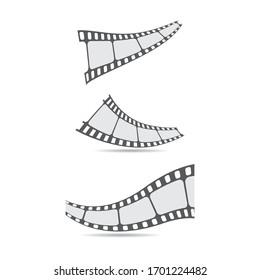 Filmstrips vector icon illustration design