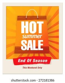final summer sale design photo frame