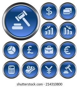 Finance button set