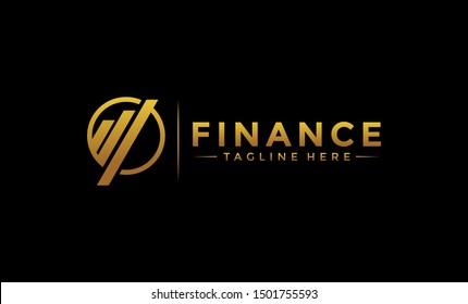 finance logo icon, business & finance logo, finance design, trading and distribution logo, accounting & financial logo, Financial Advisors  Design Template Vector Icon, Finance  Template.