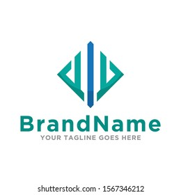 Finance logo icon vector. Creative concept design logo financial. Simple design on white background.