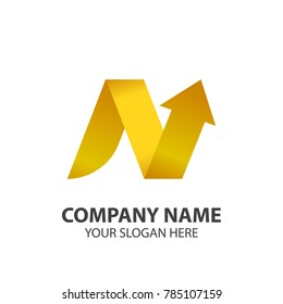 finance logo with modern concept