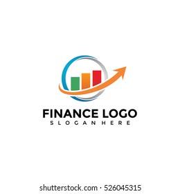 Finance logo template. Vector Illustration Eps.10