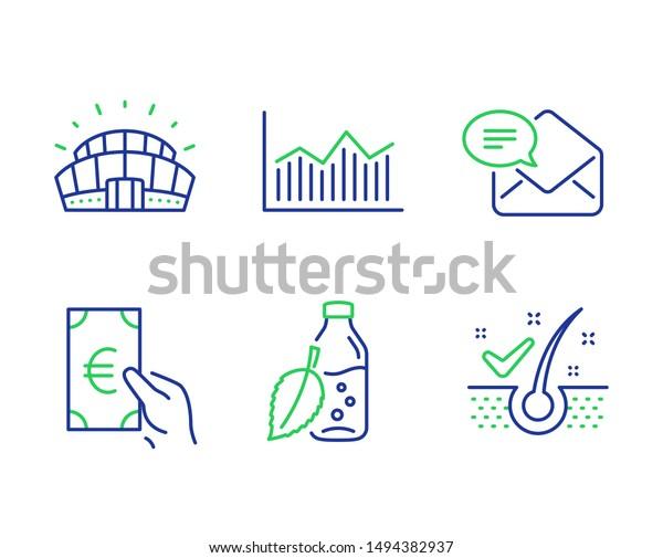 finance money diagram new mail line stock vector (royalty free) 1494382937  shutterstock