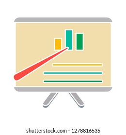 financial board icon marketing icon-analysis illustration- investment sign symbol-statistic vector