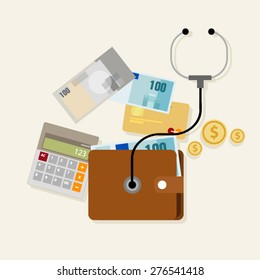 financial check up personal finance health condition