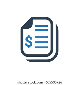Financial Documents Icon