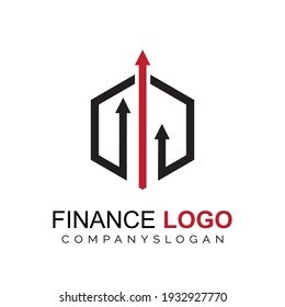 Financial logo concept. economic logo concept