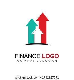 Financial logo concept. economic logo concept
