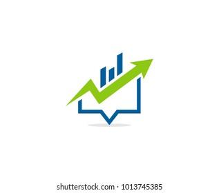 Financial logo icon
