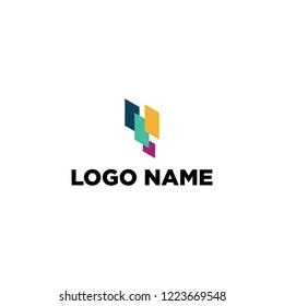 Financial logo. meida logo