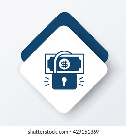 financial money symbol icon