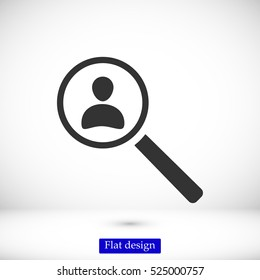 find people icon, vector best flat icon, EPS