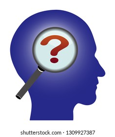 Find question in human head
