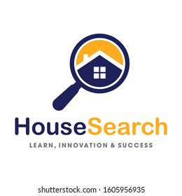 Find Real estate, Find Property, House Search logo vector